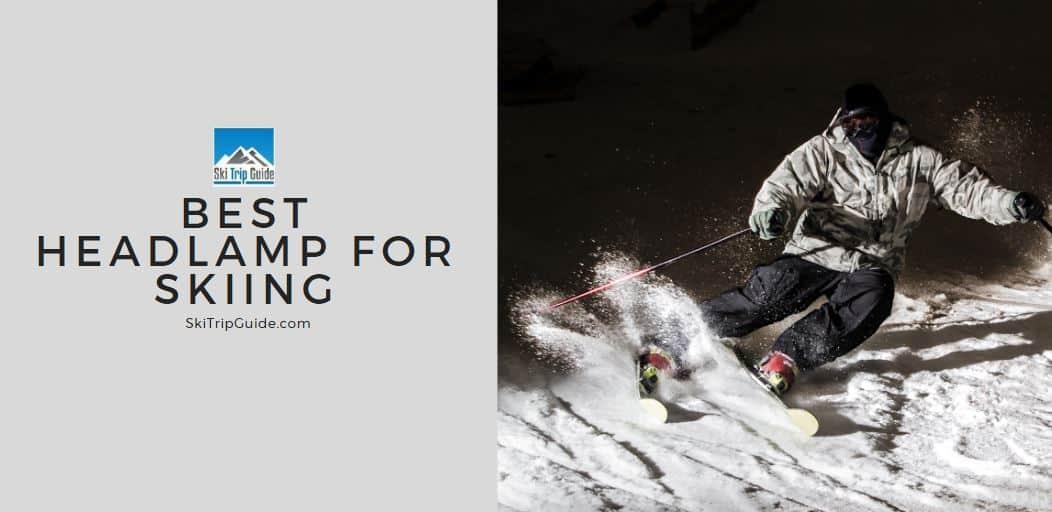 best headlamp for skiing